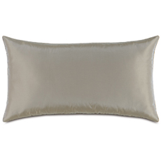 Freda Taffeta King Sham in Steel