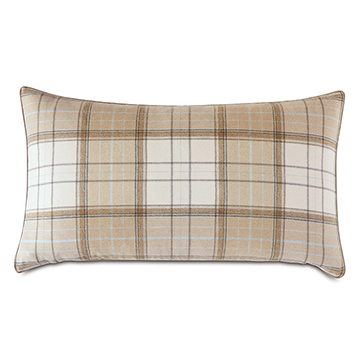 Aldrich Plaid King Sham