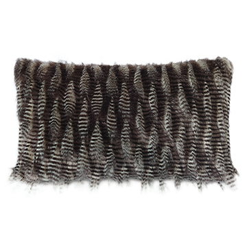 Maddox Faux Fur Decorative Pillow