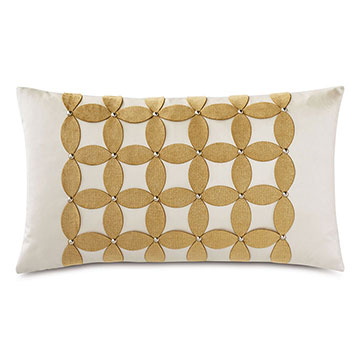 Marceau Applique Decorative Pillow