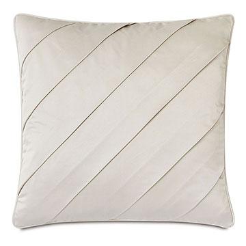 Marceau Diagonal Pleat Decorative Pillow