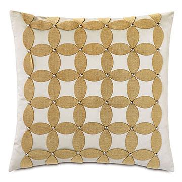Marceau Applique Decorative Pillow