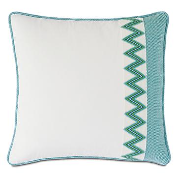 Namale Woven Trim Decorative Pillow