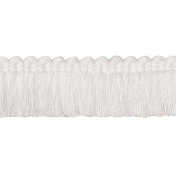 Brush Fringe Ravensmoor A (White)