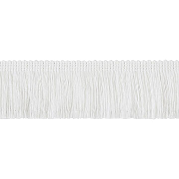 Brush Fringe White