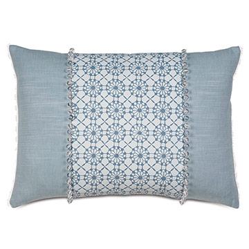 Penelope Beaded Decorative Pillow