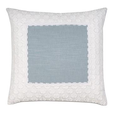 Penelope Mitered Border Decorative Pillow