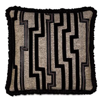Roxanne Graphic Decorative Pillow
