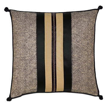 Roxanne Trim Applique Decorative Pillow