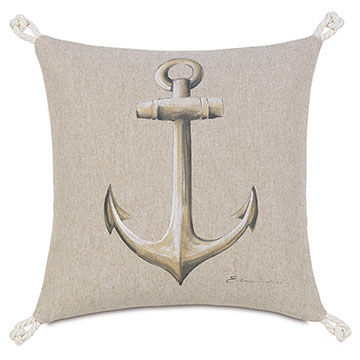 Hand-Painted Anchor