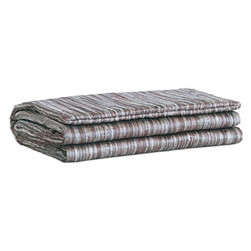 Horta Pewter Bed Scarf