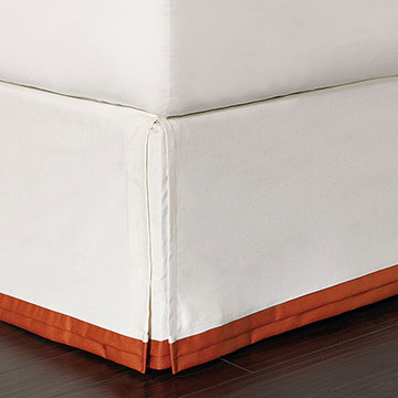 Dean Parchment Bed Skirt