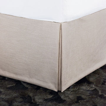 Valentina Metallic Bed Skirt