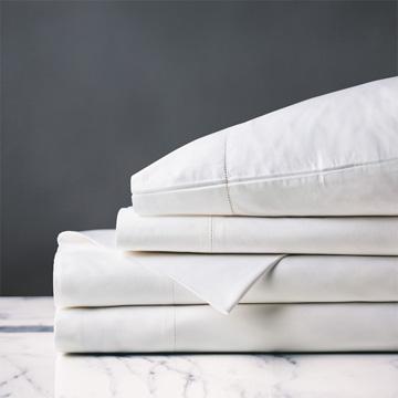 Gianna White Sheet Set