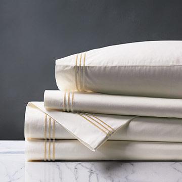 Tessa Ivory/Bisque Sheet Set