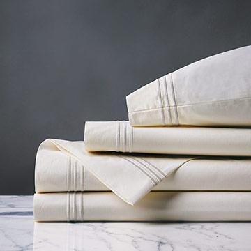 Tessa Ivory/Creme Sheet Set