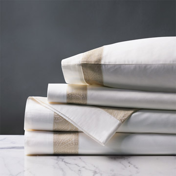 Cornice White/Pearl Sheet Set