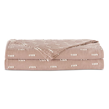 Bluff Fil Coupe Coverlet