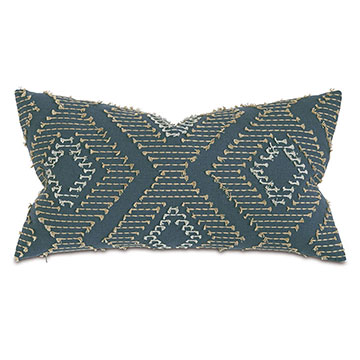 Trillium Diamond Fil Coupe Decorative Pillow