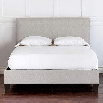 Malleo Upholstered Bed In Draper Slate
