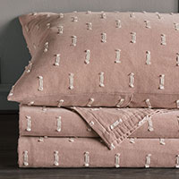 Bluff - pink,texture,textured,luxury,high-end,high-quality,quality,thom filicia,eastern accents,bedding,luxury bedding,euro sham,standard sham,coastal bedding,king sham,standard sham,pillow,pink pillow,fil coupe,cut embroidery,cut embroidered,frilly,textured,dotted,polka dotted,polka dots,soft pink,millennial pink,rose quartz,soft pink bedding,pink bedding,pink pillow,pink coverlet,blanket,throw,pink blanket,pink throw,made in america,made in usa,handmade,designer,cotton,luxury cotton,100% cotton,egyptian cotton,striped,stripes,pink and white,bed shams,pillow shams,coastal bedding,coastal bedroom,casual bedroom,luxury coastal decor,coastal decor,casual decor,broken stripe,home decor,home accessories,
