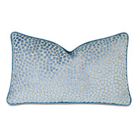 Baynes Cut Velvet Decorative Pillow