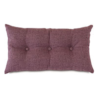 Sherlock Button-Tufted Decorative Pillow