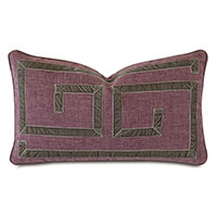 Sherlock Ribbon Decorative Pillow in Olive