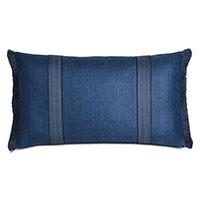 Meridian Brush Fringe Decorative Pillow