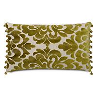 Russel Ball Trim Decorative Pillow