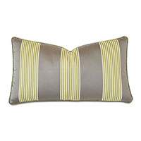 May Striped Decorative Pillow