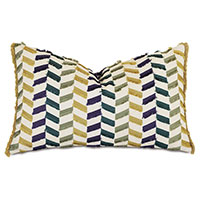 Claire Broken Chevron Decorative Pillow