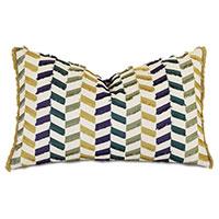 Claire Broken Chevron Decorative Pillow