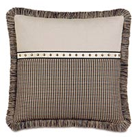 Aiden Nailhead Decorative Pillow