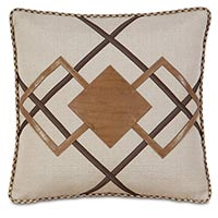 Aiden Diamond Decorative Pillow