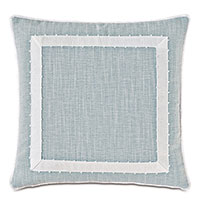 Amberlynn Mitered Picot Decorative Pillow