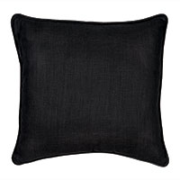 Resort Black Accent Pillow