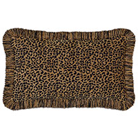 Congo Black & Gold Pillow B
