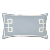 Resort Sky Fret Accent Pillow