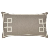 Resort Stone Fret Accent Pillow