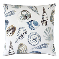 Persea Seashell Decorative Pillow