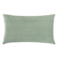 Evangeline Pleated Accent Pillow In Teal