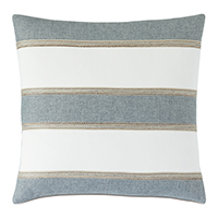 Persea Pieced Stripe Decorative Pillow