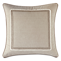 Aldrich Brush Fringe Decorative Pillow