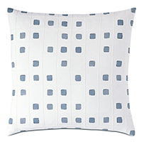 Persea Pintuck Decorative Pillow