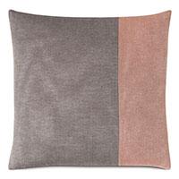 Fossil Color Block Decorative Pillow