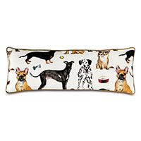 Tompkins Novelty Dogs Decorative Pillow