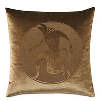 Antiquity Minotaur Decorative Pillow