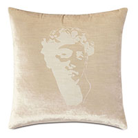 Antiquity David Decorative Pillow