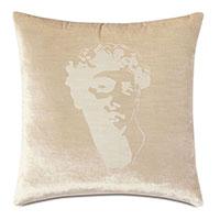 Antiquity David Decorative Pillow